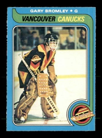 Gary Bromley Vancouver Canucks