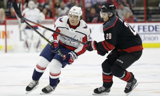 Oshie Ties It, Capitals Beat Bruins 3-2 in Shootout