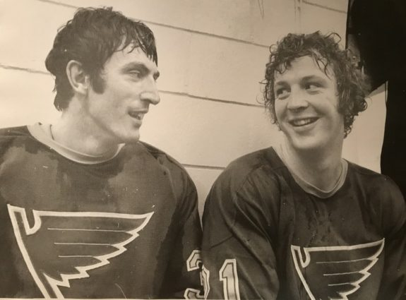 Jacques Caron, Kevin O'Shea St. Louis Blues