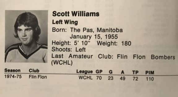Scott Williams Kansas City Scouts