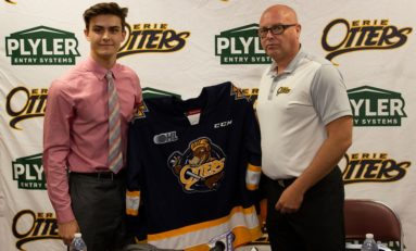 Erie Otters Notebook: Austen Swankler Commits