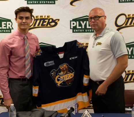 Erie Otters Notebook: Austen Swankler Commits