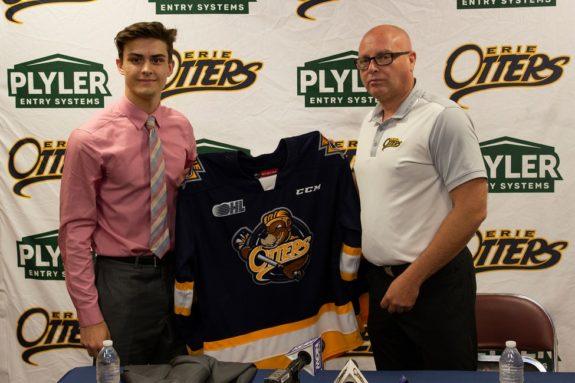 Austen Swankler, OHL, Erie Otters