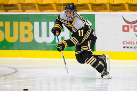 Alex Campbell of the Victoria Grizzlies