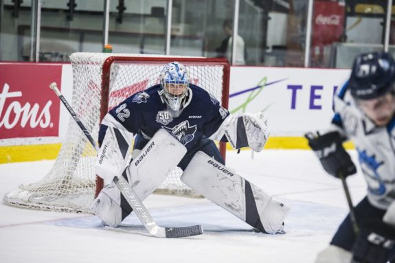 Colten Ellis of the Rimouski Oceanic