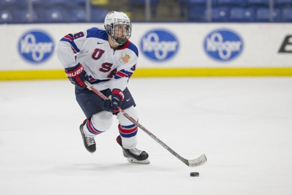 Domenick Fensore of the U.S. National Development Team