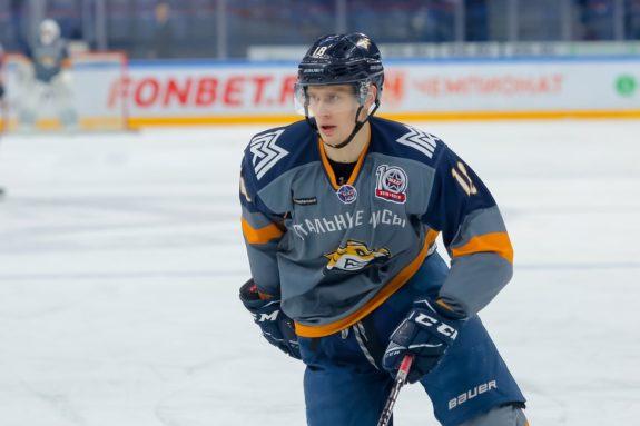 Egor Spiridonov of Stalnye Lisy Magnitogorsk