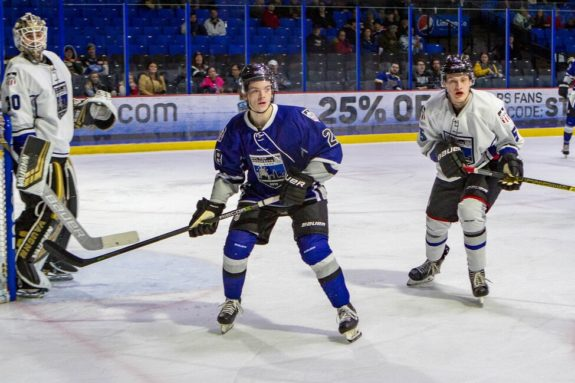 Ethan Phillips of the Sioux Falls Stampede