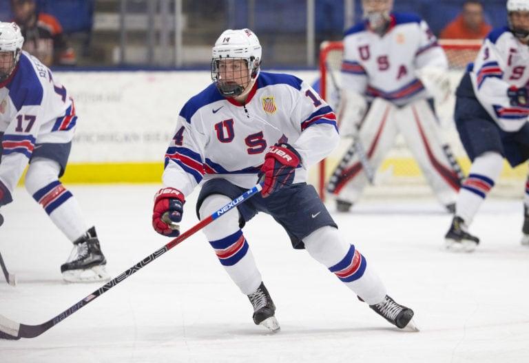 Judd Caulfield of the U.S. National Development Team