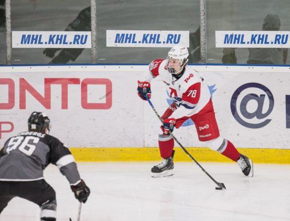 Roman Bychkov of Loko Yaroslavl