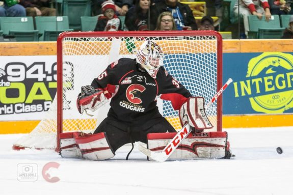 Taylor Gauthier of the Prince George Cougars
