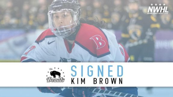 Kim Brown Buffalo Beauts