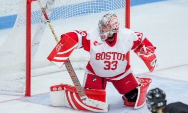 Boston Pride Ink a Netminder in BU Alum Victoria Hanson