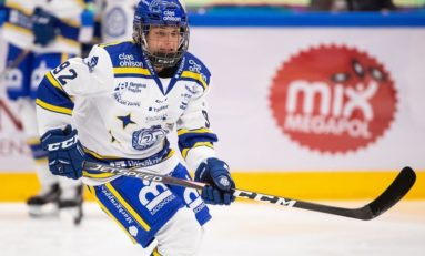 Leksands IF's Betty Jouanny Is in a Very Good Place