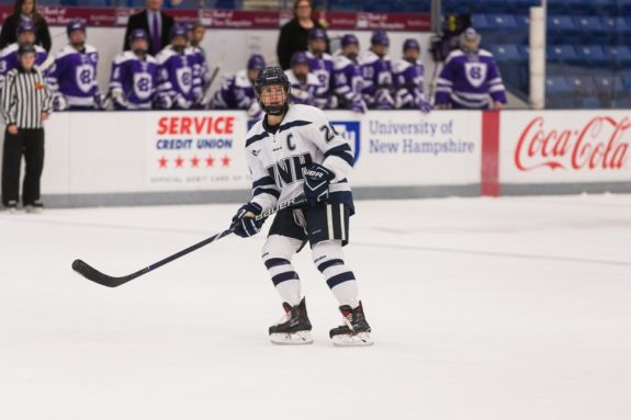 Carlee Toews UNH Wildcats