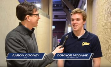 Celebrating Aaron Cooney's 500th Erie Otters' Broadcast