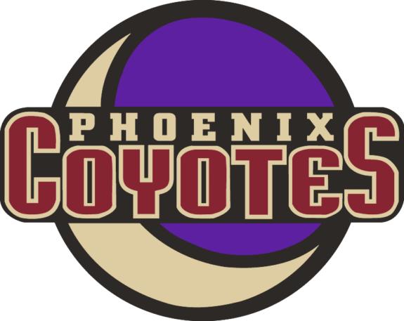 Arizona Coyotes crescent Moon logo