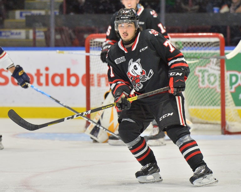 Kyen Sopa, Erie Otters, OHL