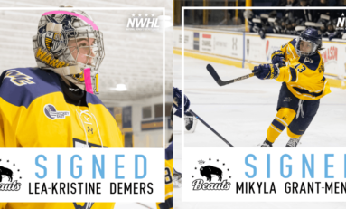 Beauts Ink Two Merrimack Stars in Time for Playoffs