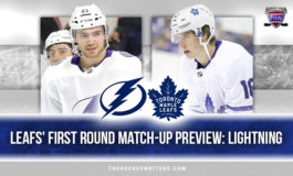 Maple Leafs' First Round Match-up Preview: Tampa Bay Lightning