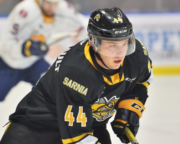 Jacob Perreault Sarnia Sting