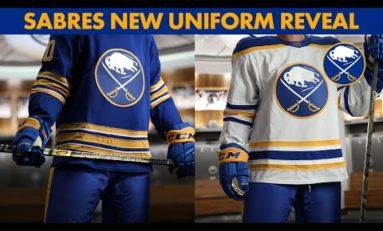Sabres Reveal New Royal Blue Uniforms