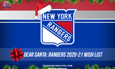 Dear Santa: Rangers' 2020-21 Wish List