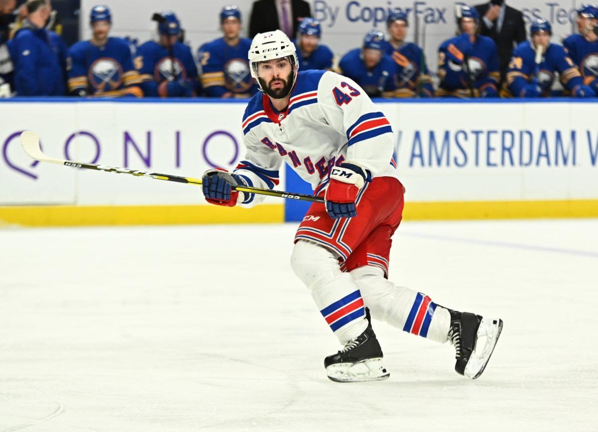 Colin Blackwell New York Rangers