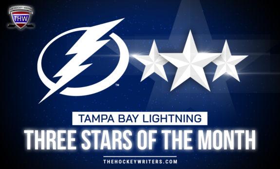 Tampa Bay Lightning Three Stars of the Month