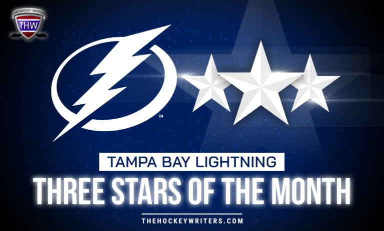 Tampa Bay Lightning Three Stars of the Month