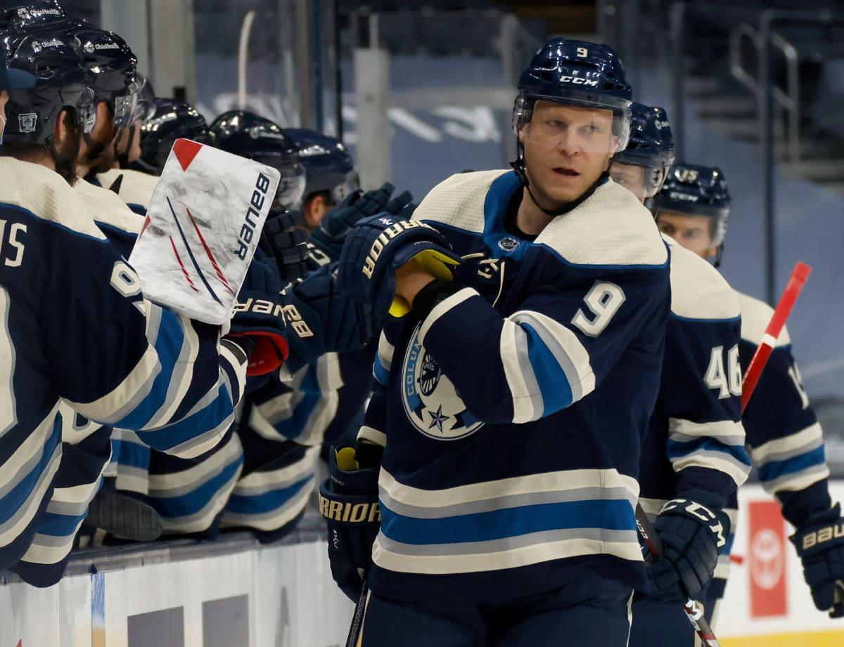 Mikko Koivu Columbus Blue Jackets