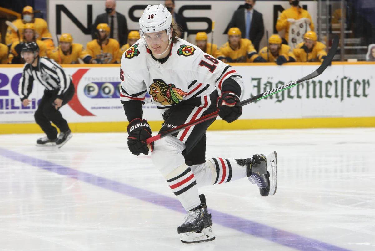 Nikita Zadorov Chicago Blackhawks