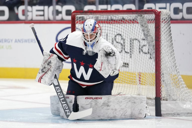 Vitek Vanecek Washington Capitals