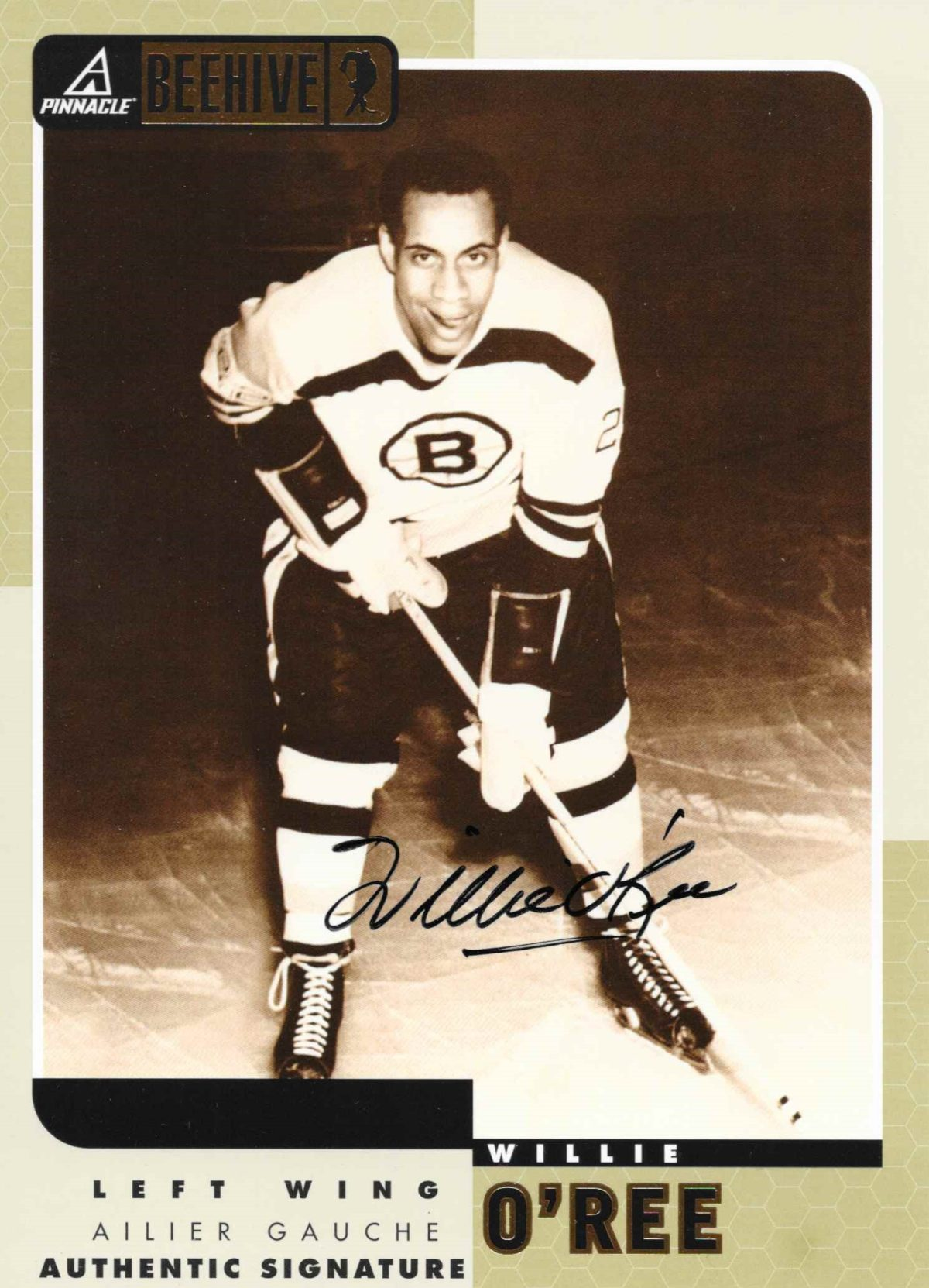 Willie O'Ree 1997-98 rookie card