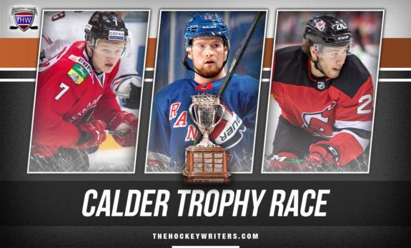 Calder Trophy Race Kaprizov, Alexis Lafreniere and Ty Smith