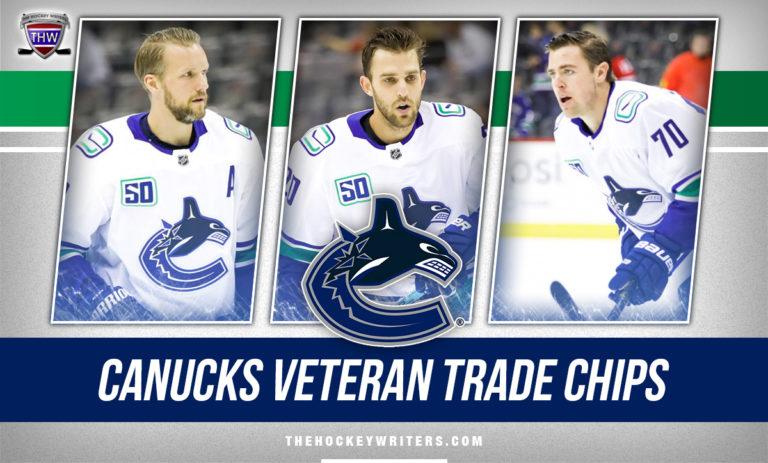 Alex Edler, Brandon Sutter & Tanner Pearson Vancouver Canucks Veteran Trade Chips