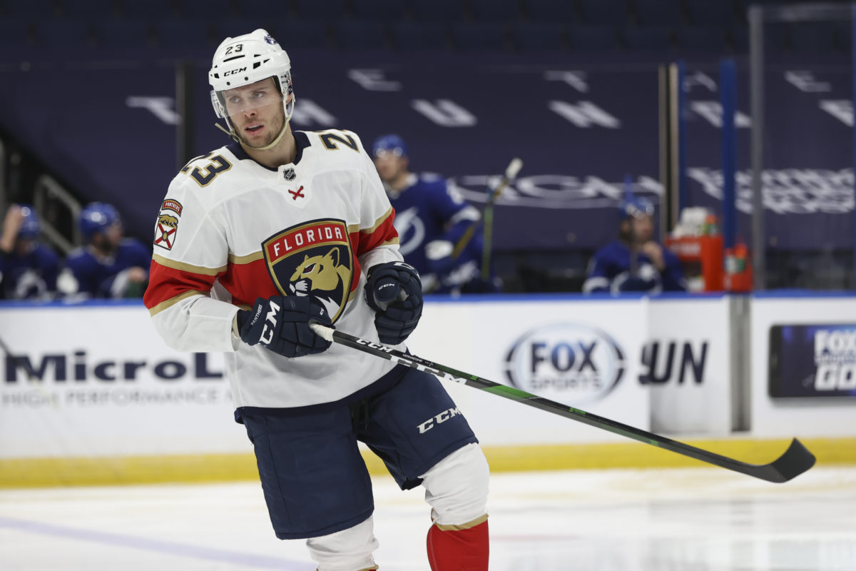 Carter Verhaeghe Florida Panthers