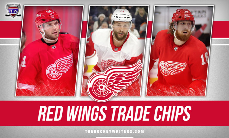 Detroit Red Wings Trade Chips Bobby Ryan, Luke Glendening, and Marc Staal