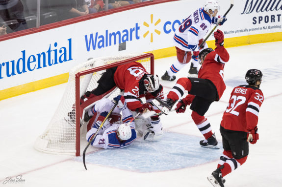 New Jersey Devils New York Rangers