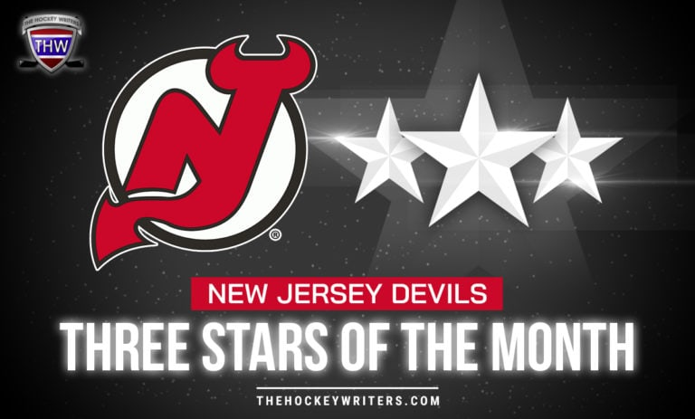 Three Stars of the Month New Jersey Devils