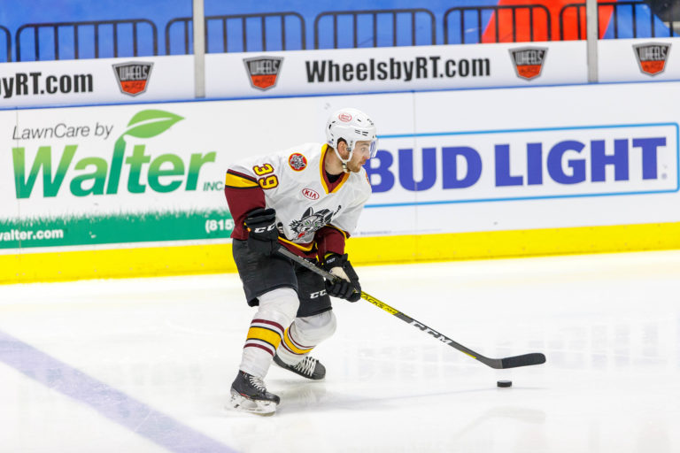 Jeremy Davies Chicago Wolves