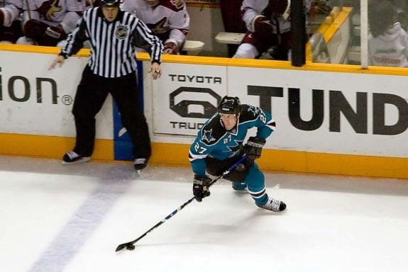 Jeremy Roenick San Jose Sharks