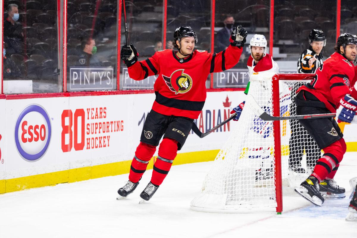 Josh Norris Ottawa Senators