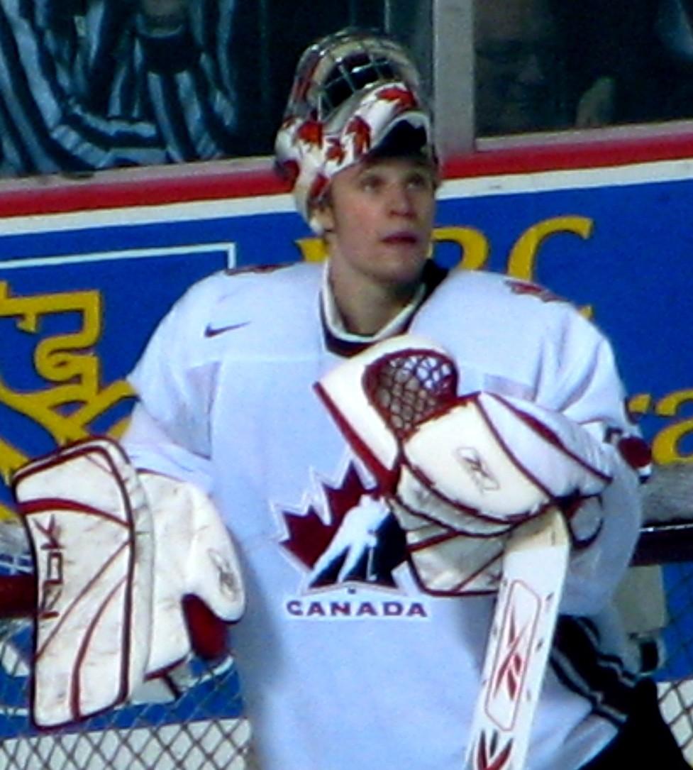 Justin Pogge Team Canada 2006 World Juniors