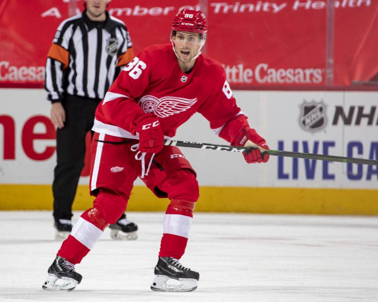 Mathias Brome Detroit Red Wings