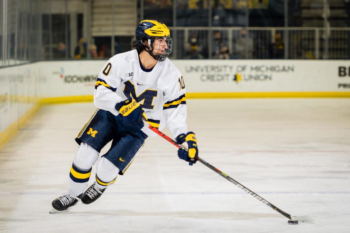 Matthew Beniers, Michigan Wolverines