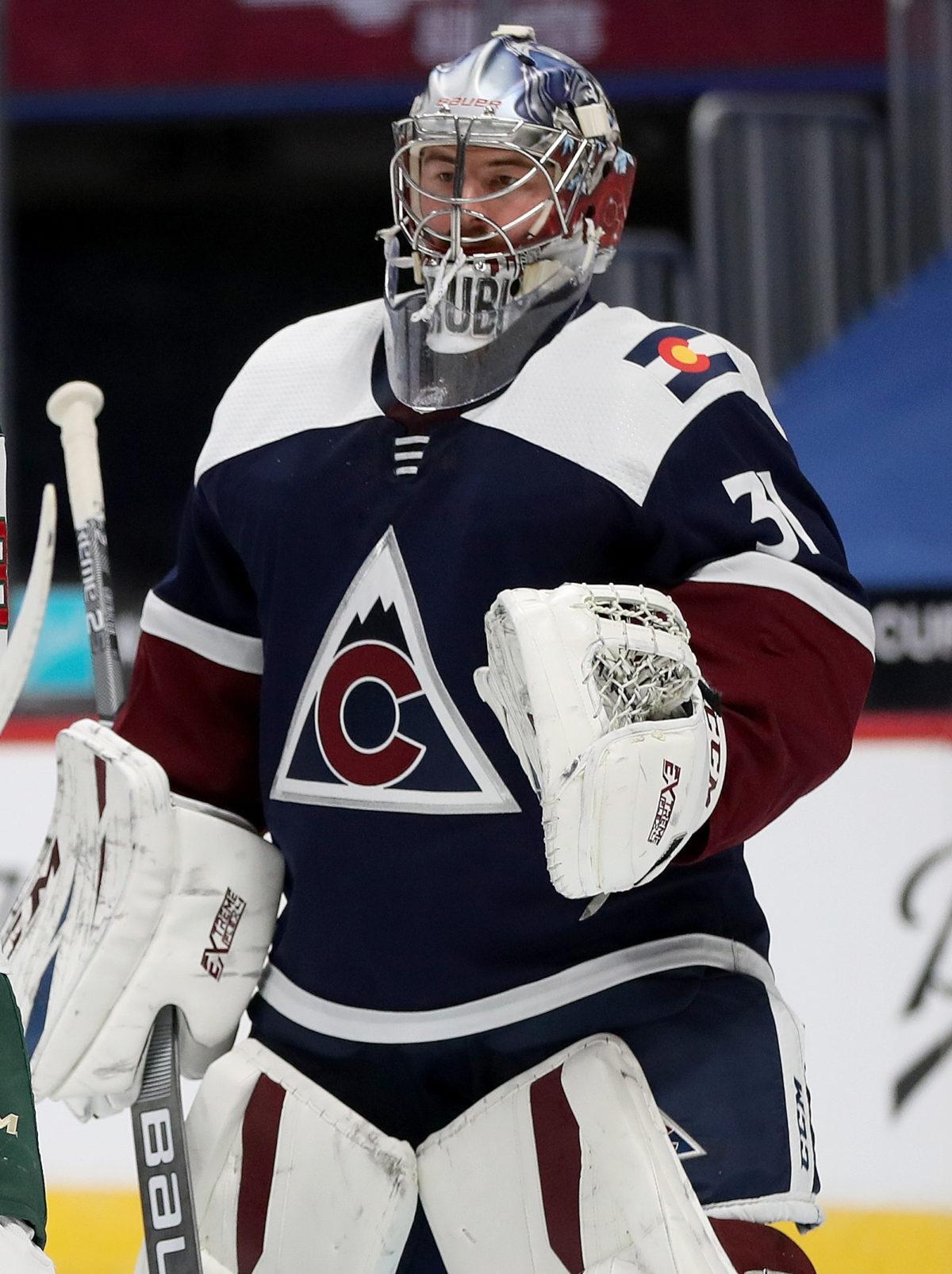 Philipp Grubauer Colorado Avalanche