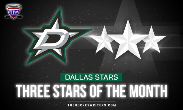 Three Stars of the Month Dallas Stars