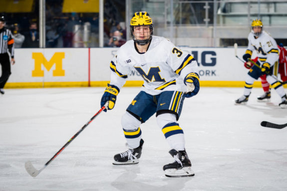 Thomas Bordeleau, Michigan Wolverines