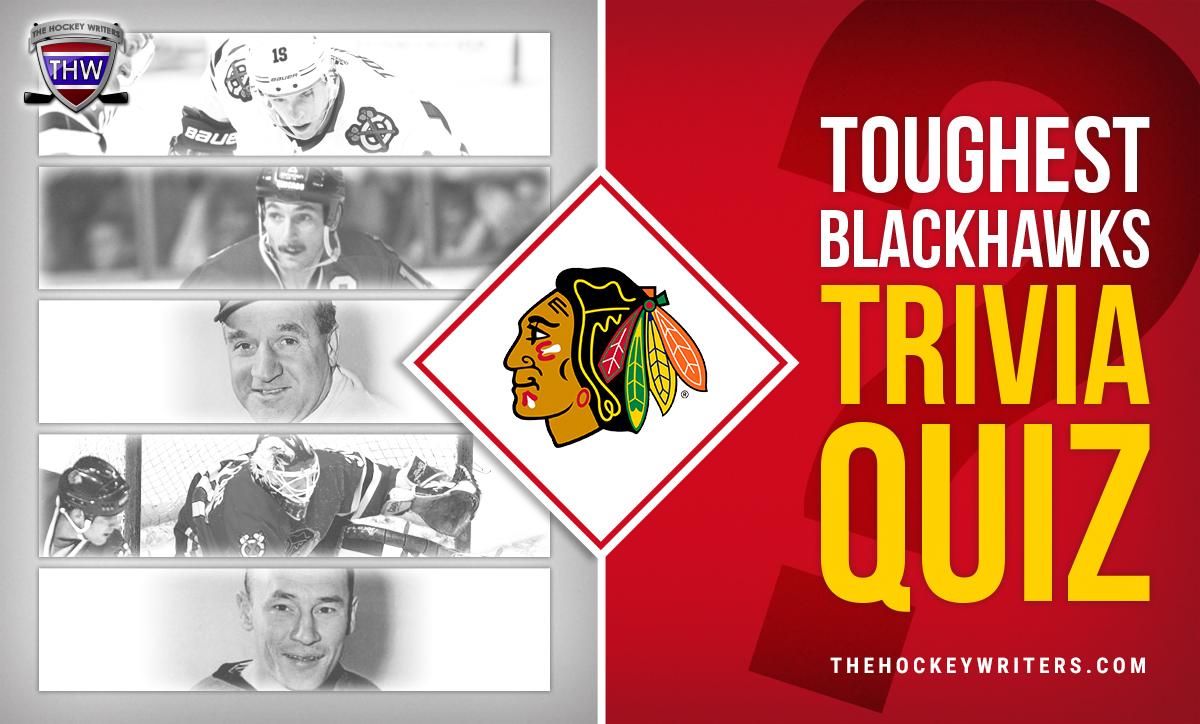 Toughest Chicago Blackhawks Trivia Quiz Jonathan Toews, Dennis Savard, Billy Reay, Ed Belfour, Pierre Pilot